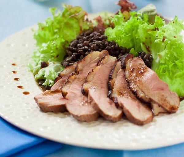 salad-with-duck-breast-and-lentils