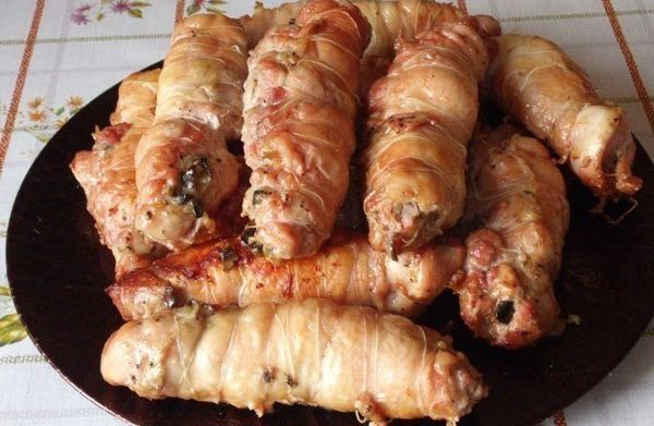 chicken-rolls-with-mushrooms