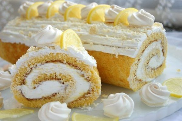 lemon-roulade