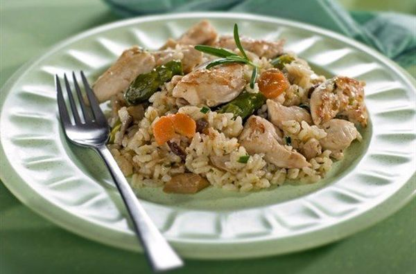 risotto-with-chicken-vegetables-and-parmesan