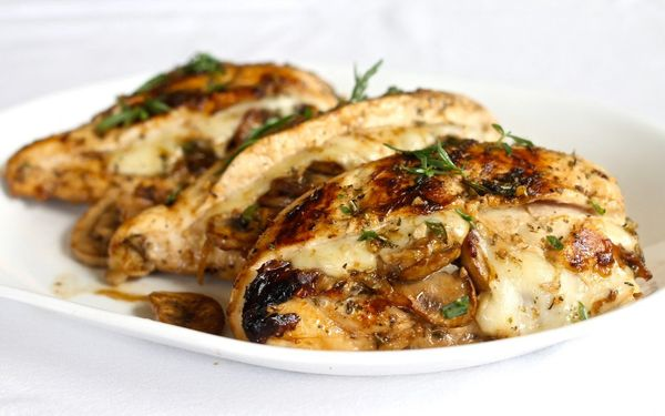 chicken-stuffed-with-mushrooms-and-cheese